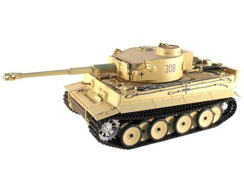 Танк Taigen German Tiger 1 Standart Edition Early Version TG3818-1A в масштабе 1/16