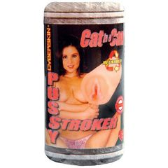 Мастурбатор-вагина CyberSkin Cat In A Can Pussy Stroker