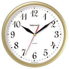 Часы настенные Troyka 91971913 круг., d225мм, плав.ход, пластик