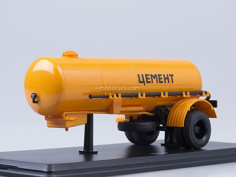 Semitrailer TC-4 Cement orange Start Scale Models (SSM) 1:43