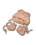 Капор - Розовый. Одежда для кукол, пупсов и мягких игрушек.