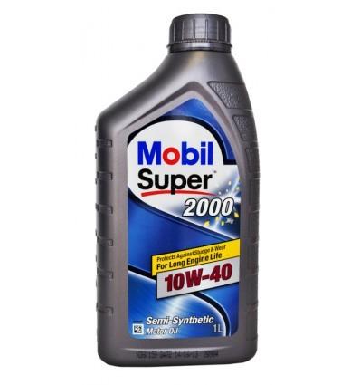 152569 152049 MOBIL SUPER 2000 X1 10W-40 моторное полусинтетическое масло (1 Литр) купить на сайте официального дилера Ht-oil.ru