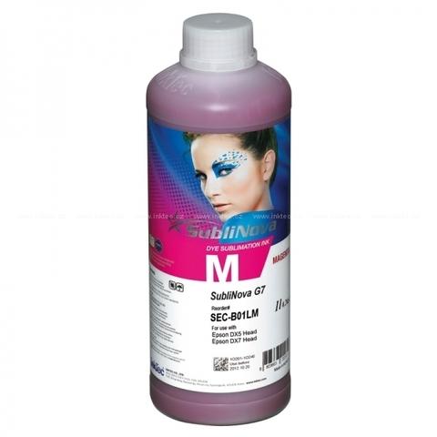 Чернила сублимационные InkTec Sublinova G7 SEC-B01LHM magenta (пурпурный) 1 л.