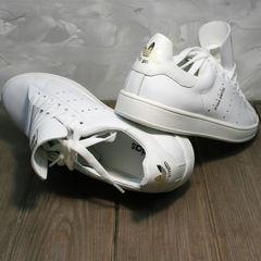 Кеды белые женские Adidas Stan Smith White-R A14w15wg