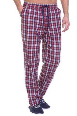 Мужские домашние брюки VIKING №002 красный (2193/3) PECHE MONNAIE Франция