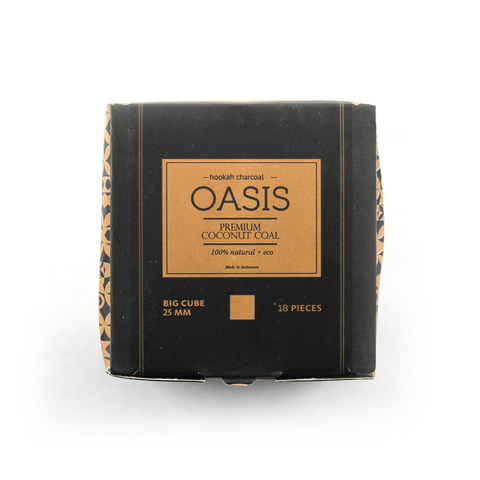 Уголь Oasis 25 18шт