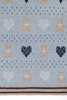 Плед детский 100х150 Luxberry Lux Bear голубой