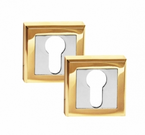 Фурнитура - Накладка На Цилиндр  Palidore комплект 2 шт, цвет золото