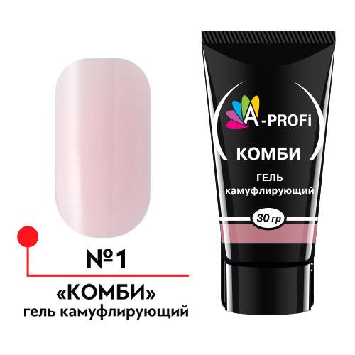 А-Про, Гель конструирующий Комби, цвет №1 30 гр.