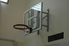 Щит баскетбольный тренировочный, оргстекло 10мм. 1200х900 мм.