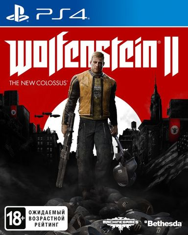 Sony PS4 Wolfenstein II: The New Colossus (русская версия)