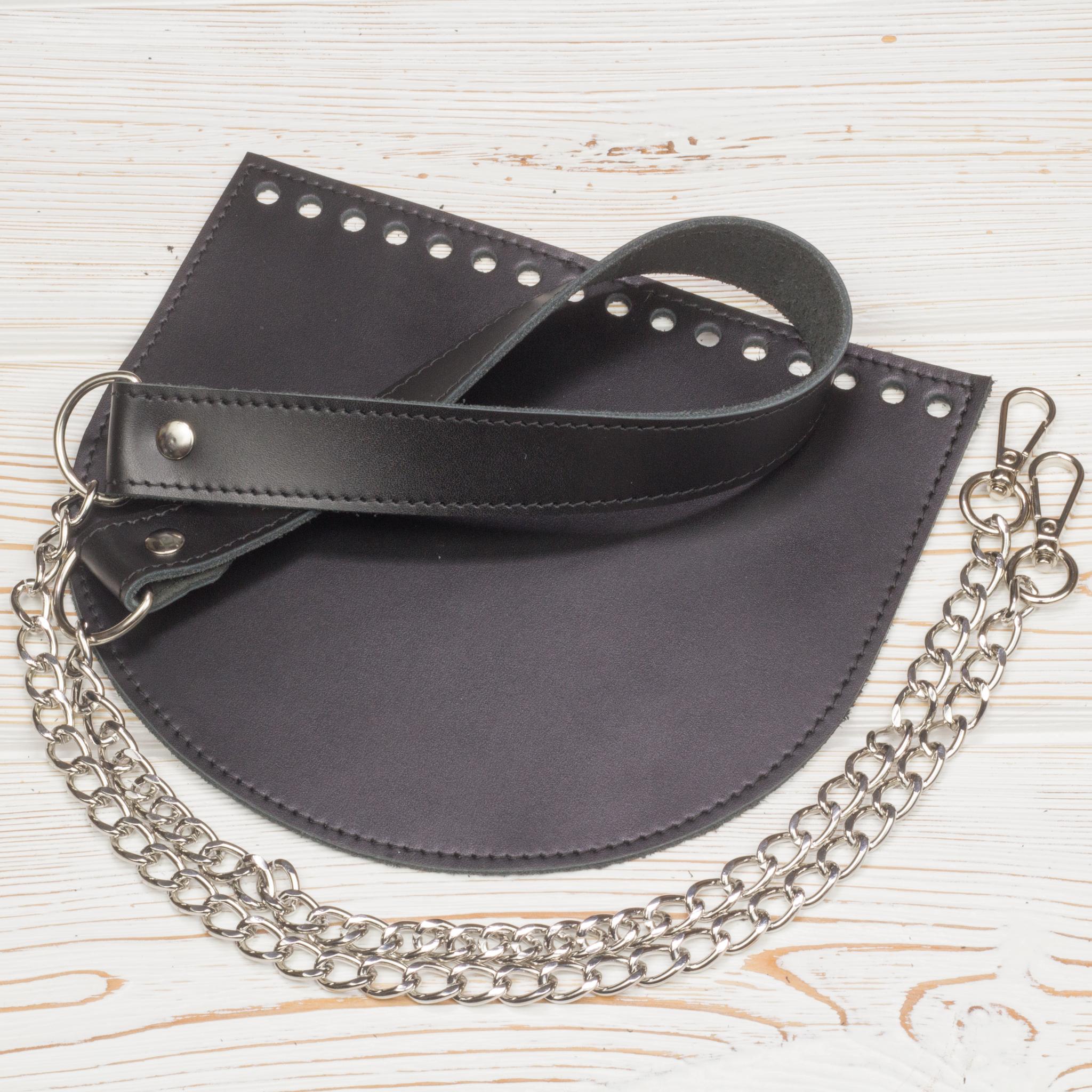 Каталог Комплект для сумки  прошитый черный IMG_2548.jpg