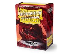 Dragon Shield - Багровые протекторы 100 штук