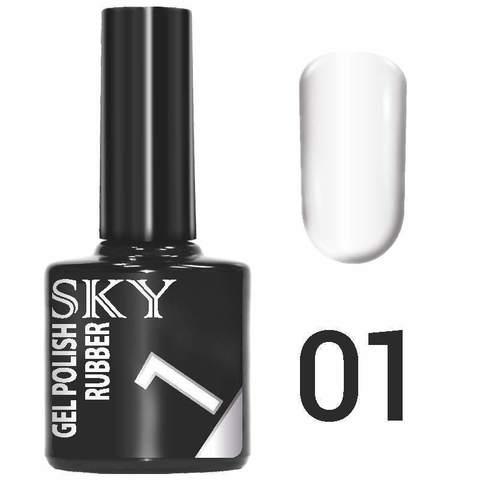Sky Гель-лак трёхфазный тон №001 (белый) 10мл