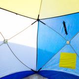 Палатка для зимней рыбалки СТЭК КУБ-2, трехслойная