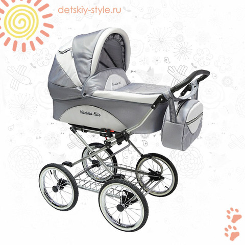 "Коляска Stroller B&E ""Maxima Elite XL"" 2в1"