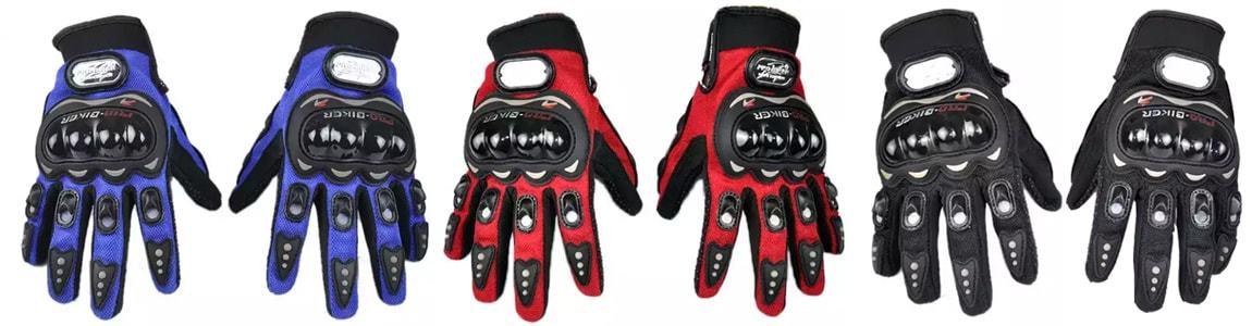 Цвета перчаток Pro-Biker (Про-байкер)