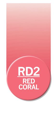 Маркер Chameleon Color Tones красный коралл RD2