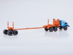 Ural-43204-41 timber carrier with trailer 1:43 Start Scale Models (SSM)