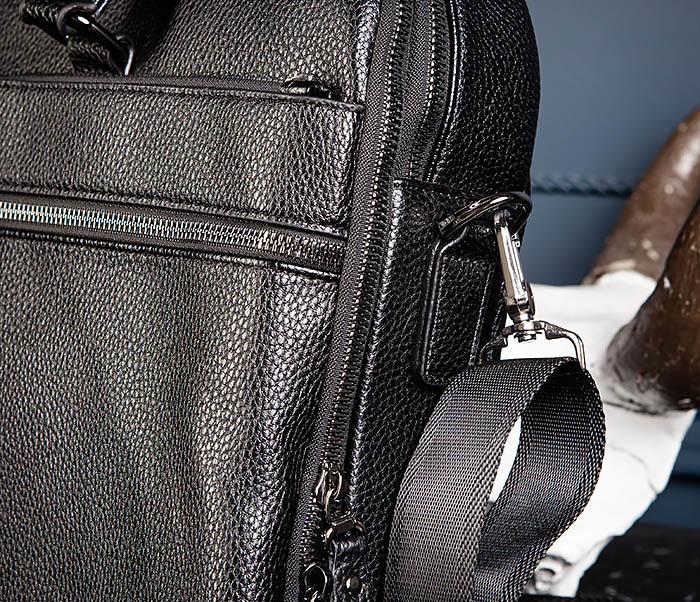 BAG535-1 Кожаная мужская сумка портфель фото 07