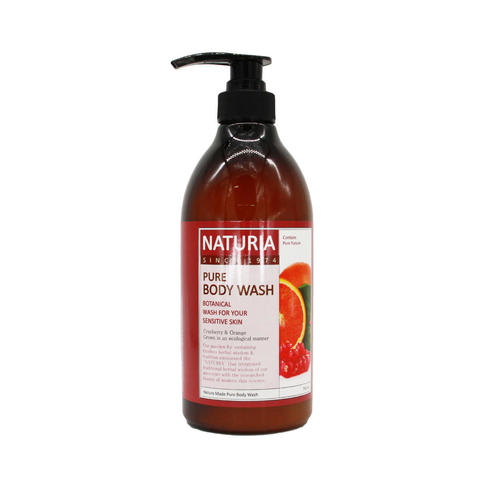 Гель для душа Evas Naturia Pure Body Wash Cranberry & Orange, 750мл