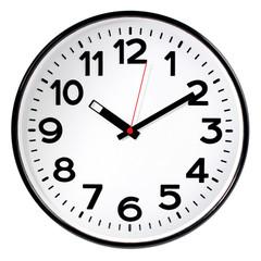 Часы настенные Troyka 78770783 круг., d305мм, плав.ход, пластик черный