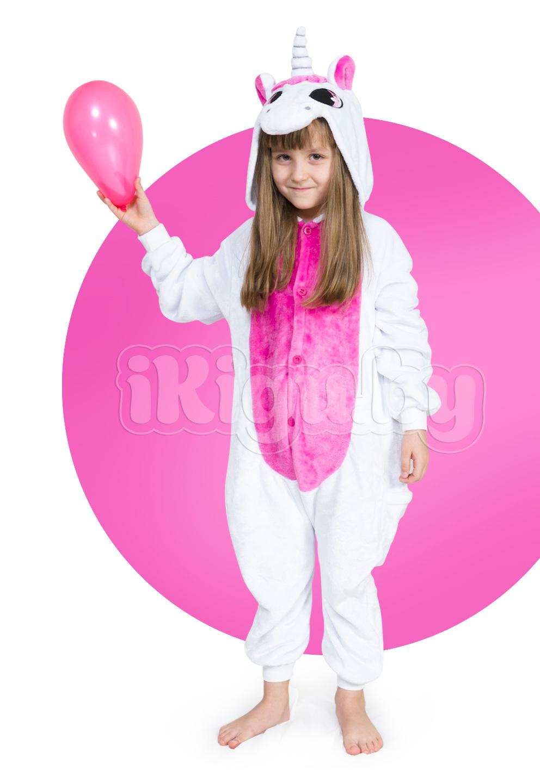 """Детские пижамы кигуруми """"Единорог Розовый"""" детки_единорог-розовый2_IGP8142.jpg"""
