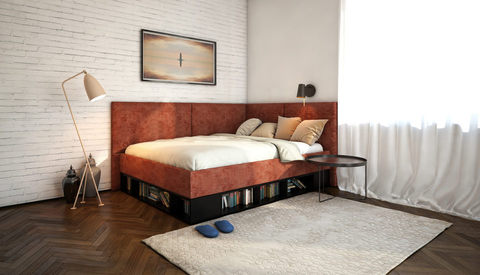 Кровать-тахта Lancaster с подъемным механизмом