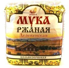Мука Ржаная деревенская, 1 кг. (Дивинка)