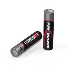 Батарейка щелочная AAA ANSMANN Red 1.5V - 4шт