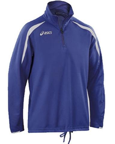 Беговая рубашка Asics Sweat training мужская синяя