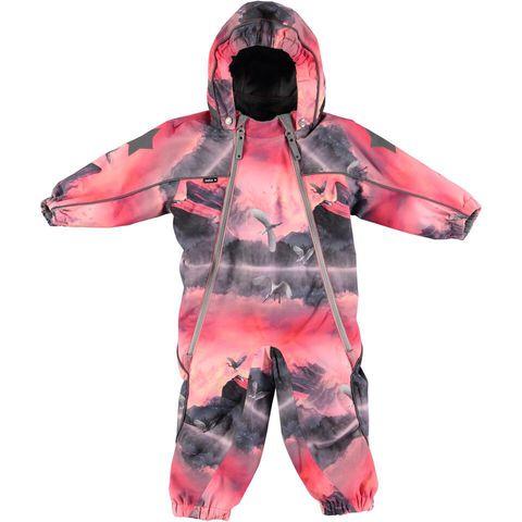 Детский комбинезон Molo Pyxis Pink Mountains