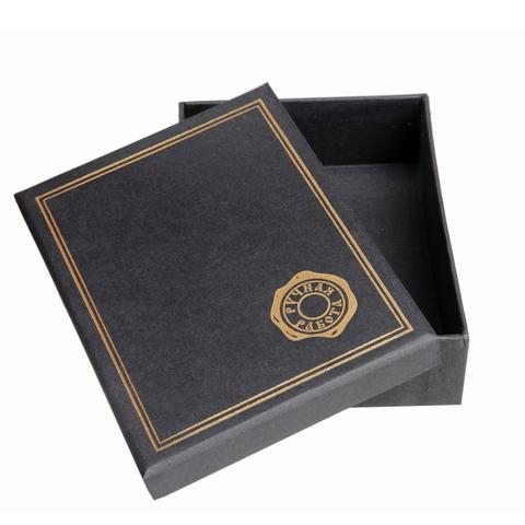 Упаковка подарочная черная