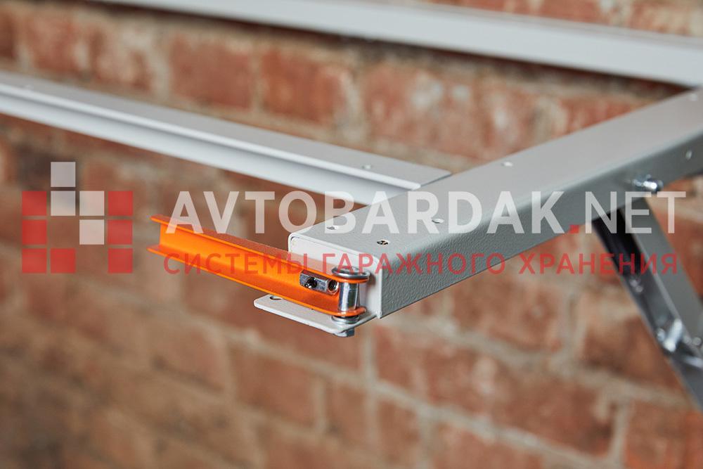 Усиленный кронштейн для откидного верстака с рамой для столешницы 1400х600 мм