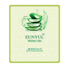 Eunyul Moisture Aloe Mask Pack - Тканевая маска для лица с экстрактом алоэ