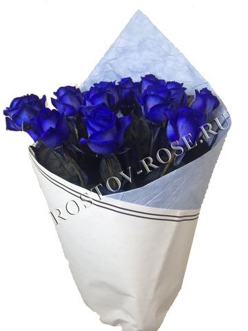 Букет из Голландских синих роз, сорт Vendela Blue