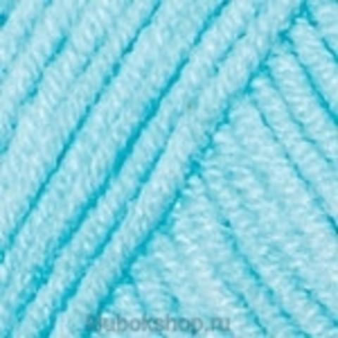 Пряжа Jeans YarnArt 76 Светло-бирюзовый - купить в интернет-магазине недорого klubokshop.ru
