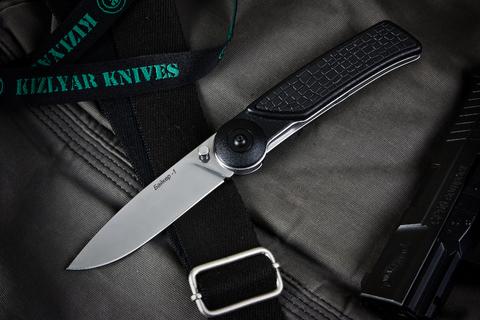 Складной нож Байкер-1  Полированный Эластрон