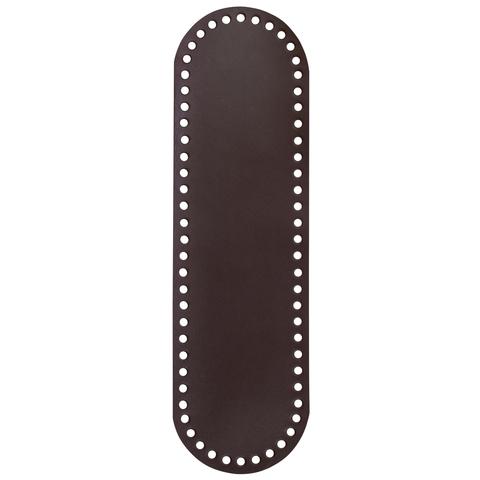 Дно. Натуральная кожа темно-коричневое  32,5см*9,4см*2,5мм
