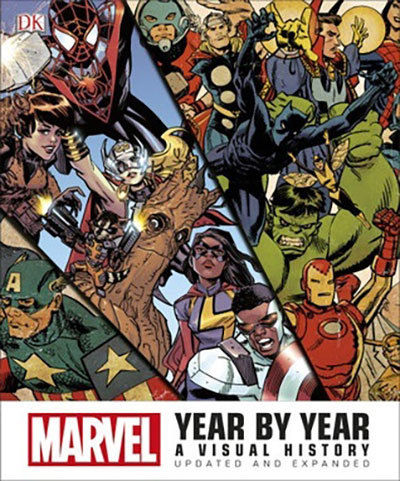 9780241281000 - Marvel Year by Year
