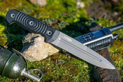 Туристический нож Legion D2 Black Titanium