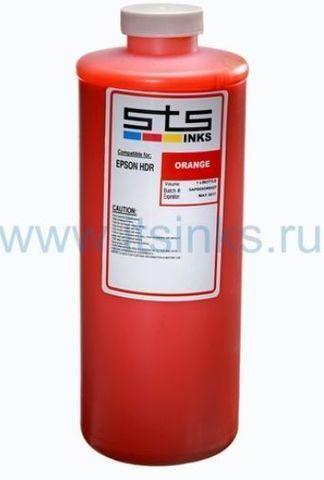 Пигментные чернила STS™ (USA) UltraChrome HDR Orange для Epson Stylus Pro 4900/7900/9900/11880 - 1000 мл