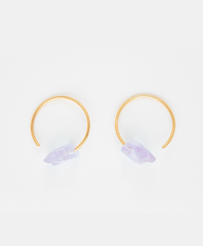 Серьги Crystalline Rainbows Lavender