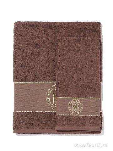Набор полотенец 3 шт Roberto Cavalli Araldico коричневый