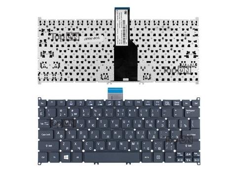 Клавиатура для ноутбука Acer Aspire S3, S5, One 756, TravelMate B1 черная
