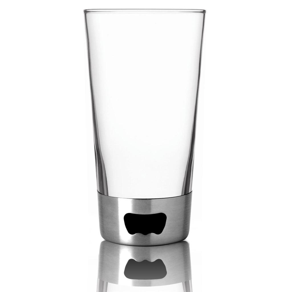 Бокал Asobu Pint glassopener (0,48 литра) стальной
