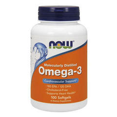 NOW Omega-3 1000 мг (100 капсул)