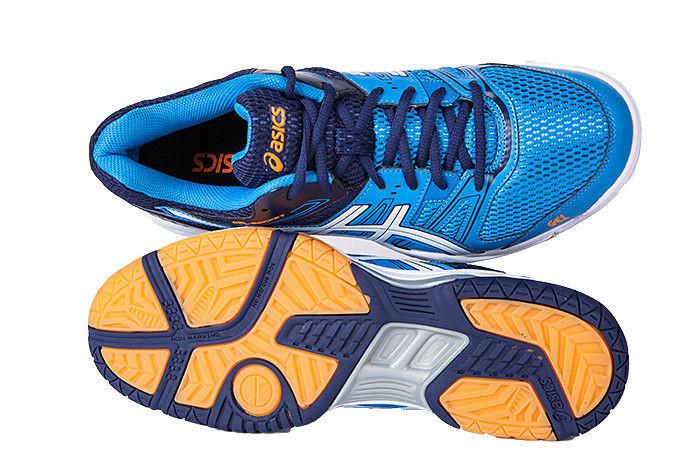 Мужские волейбольные кроссовки Asics Gel-Rocket 7 синие фото