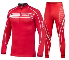 Лыжный гоночный комбинезон Craft Performance (1902812-2430-1902813-2430) красный