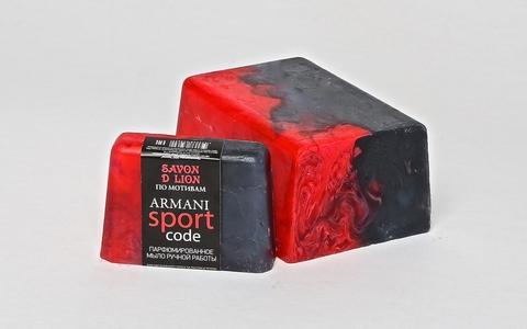 Мыло ручной работы по мотивам Armani sport 100 гр ТМ SAVON D LION